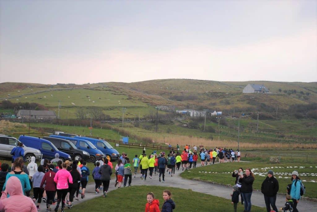 The Clare Island 10K is a fun run in Co. Mayo