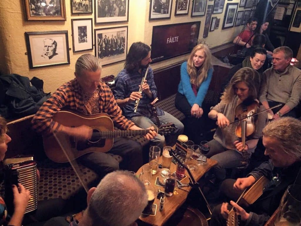 The Crane Bar in Galway has traditional Irish music every night