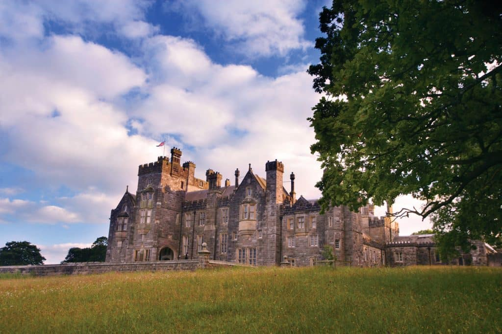 Crom Castle in Northern Ireland is privately owned by the Earl of Erne