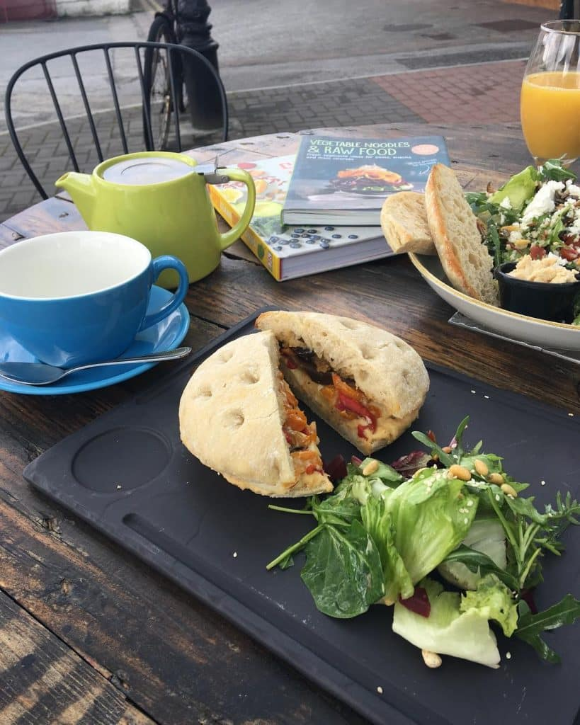 Curious Cat Cafe is one of the best vegan and vegetarian friendly restaurants in Killarney.