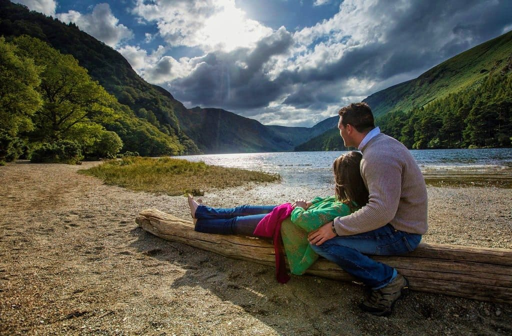 Glendalough is one of the best day trips from Dublin within a one hour drive.