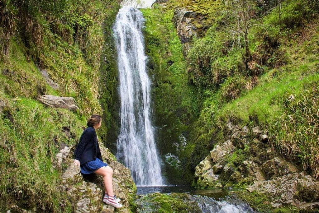 Be sure to visit Glenevin Waterfall, the best of Inishowen.