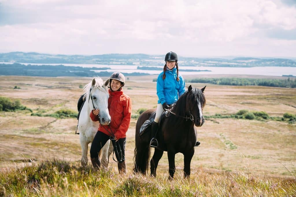 Horse riding is one of the top 10 outdoor activities in Ireland