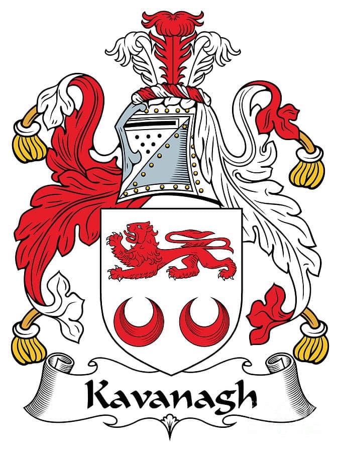 Kavanagh is a popular surname in Dublin