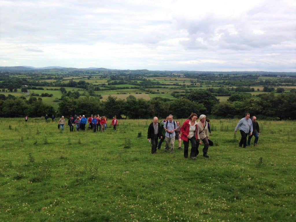 Knockainey, a hill dedicated to the pagan goddess Áine, is a great place to try and spot magical fairies.