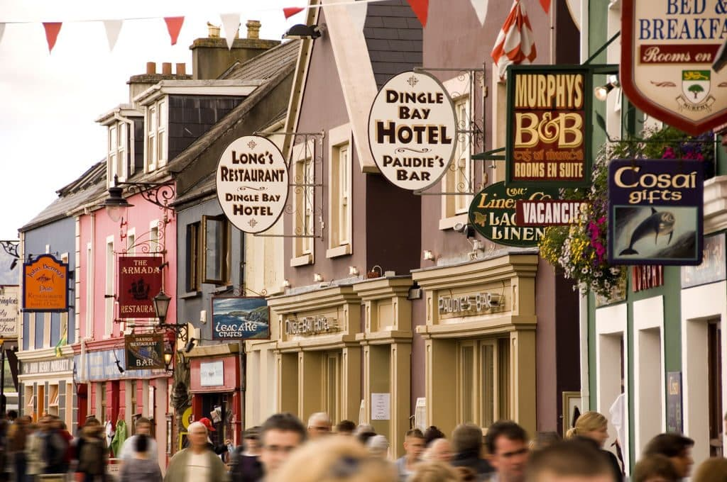 Another of the best towns to visit in Ireland is Dingle in Co. Kerry.