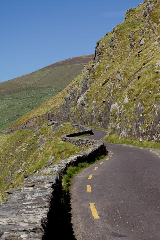 Drive carefully at Conor's Pass