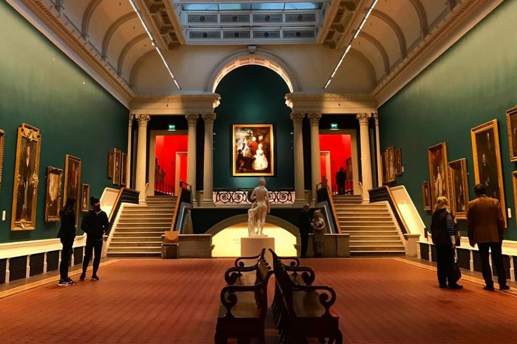 The National Gallery of Ireland is one of the top Dublin attractions