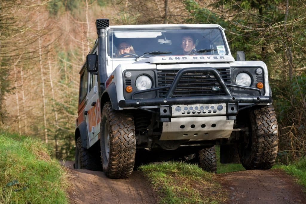 Off-road driving is great for thrill seekers on the Emerald Isle