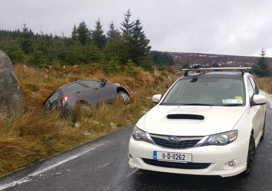 Old Military Road is one of the 5 most dangerous roads in Ireland
