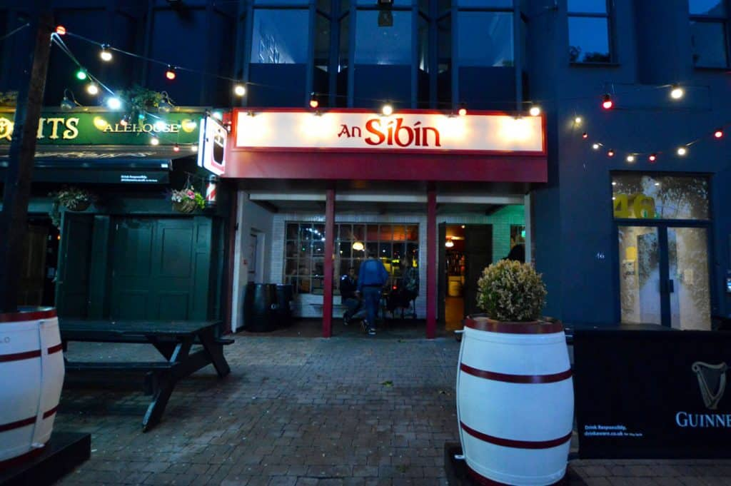 An Síbín in Belfast.