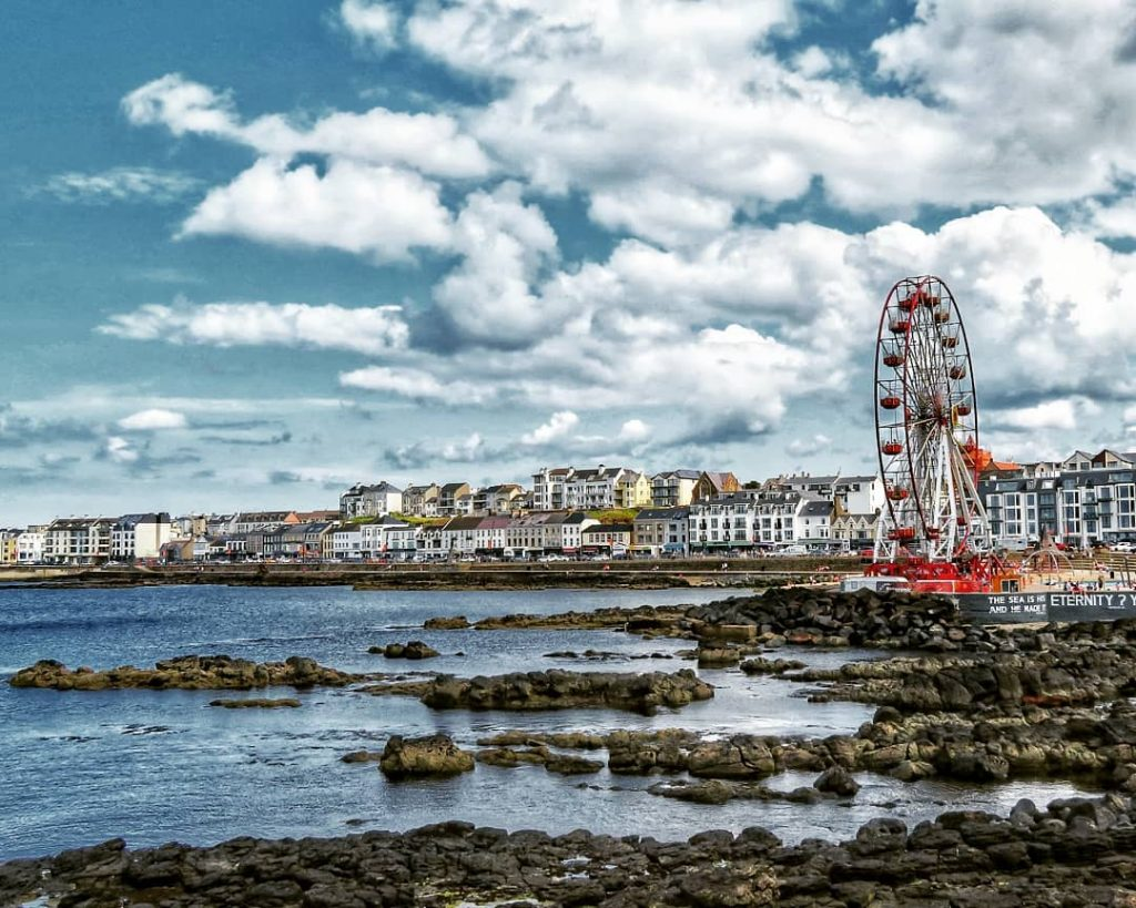 Portstewart offers some of the most postcard-worthy images you're likely to experience in Ireland
