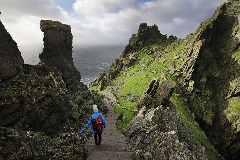 The Skellig Islands are another of the most stunning places in Ireland.