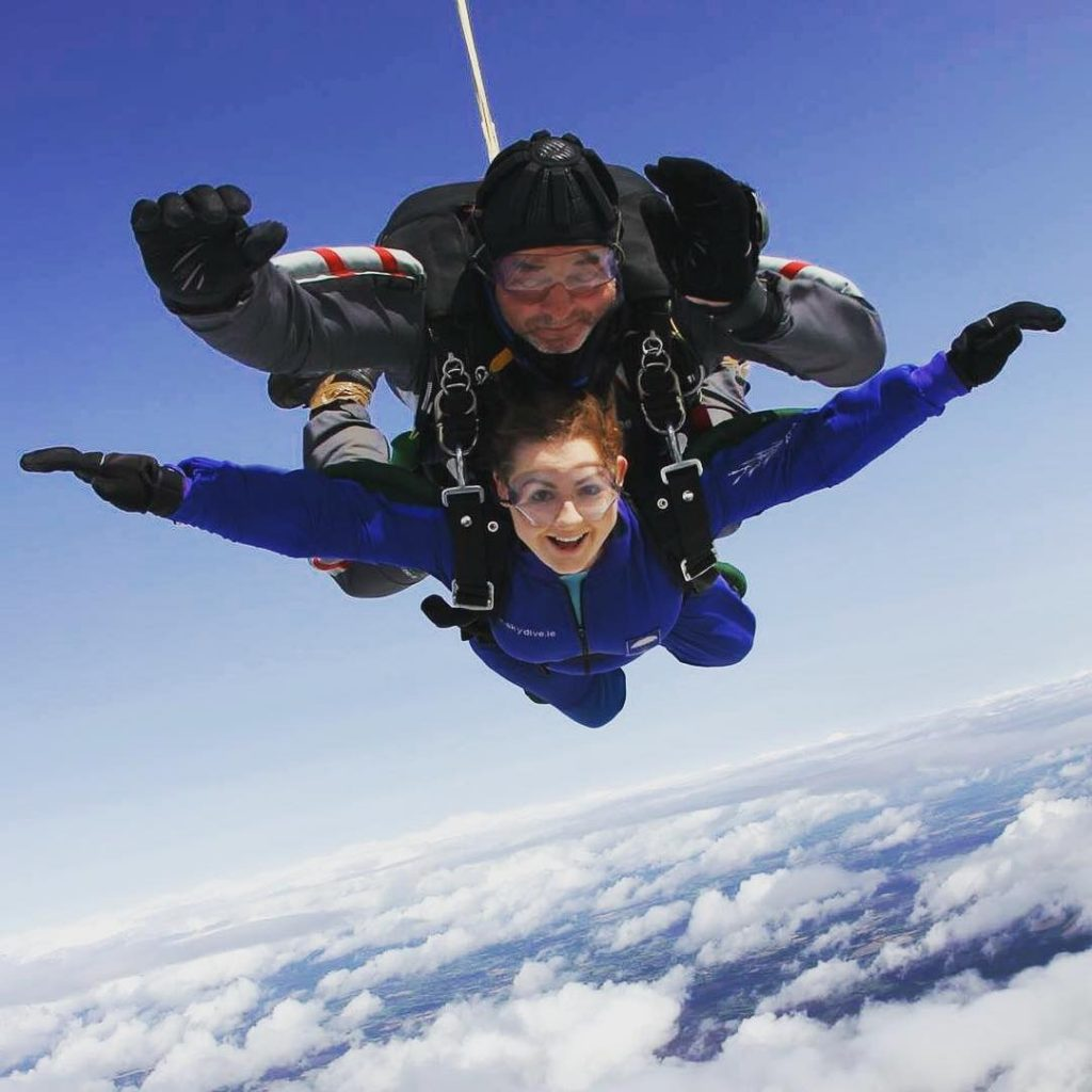 Skydiving is great for thrill seekers on the Emerald Isle