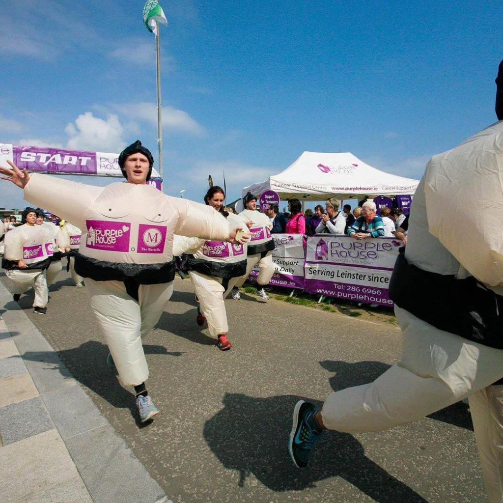 The Sumo Run in County Dublin is one of the top 10 fun runs and marathons in Ireland