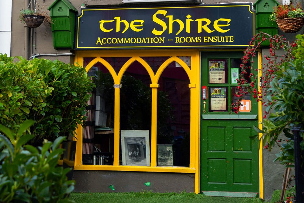 The Shire, a Lord of the Rings themed hostel, is a must-visit place when you're looking for things to do in Kerry on a budget.