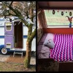 This vintage Irish caravan on Airbnb is hippie heaven