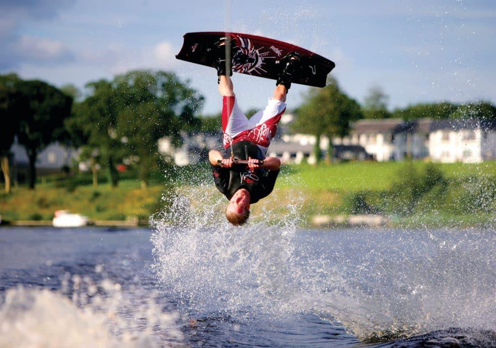 Wakeboarding is one of 10 thrilling activities for adrenaline junkies in Ireland