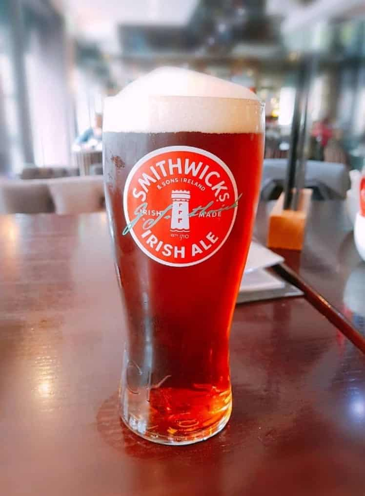 Smithwick's is one of 10 drinks every proper Irish pub must serve