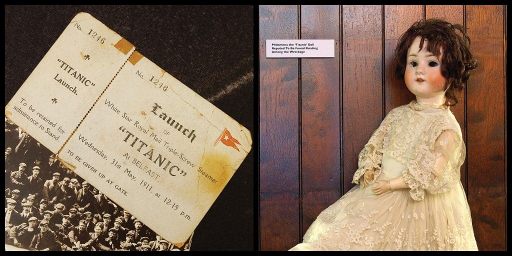 Items of Titanic memorabilia you'll find in this Belfast bar