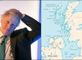 A bridge between Northern Ireland and Scotland: