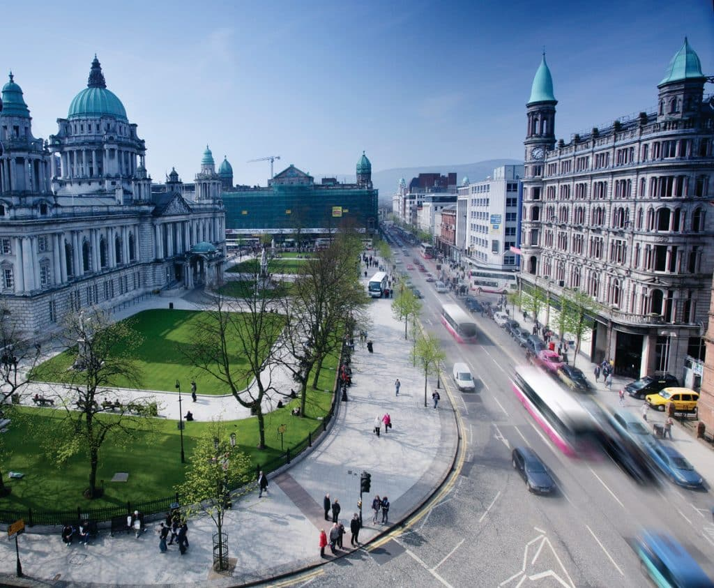 More companies are investing in Belfast