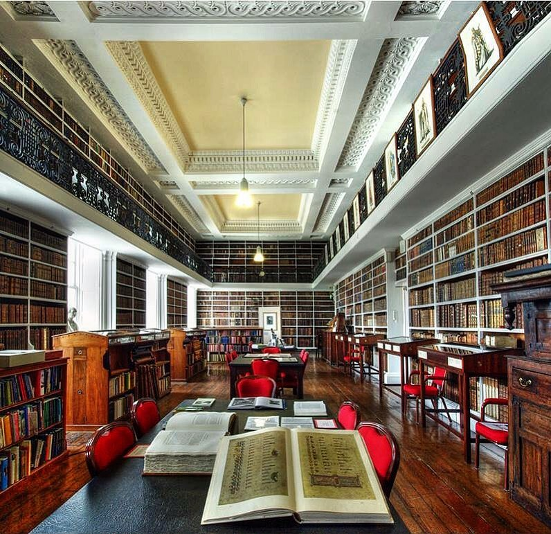 The Armagh Robinson Library is one of the most beautiful libraries in Ireland