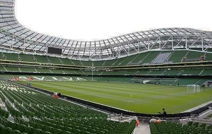 The Ireland vs Denmark game will take place in Dublin this November