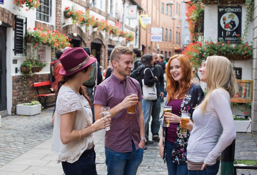 Talk to locals when travelling around Ireland