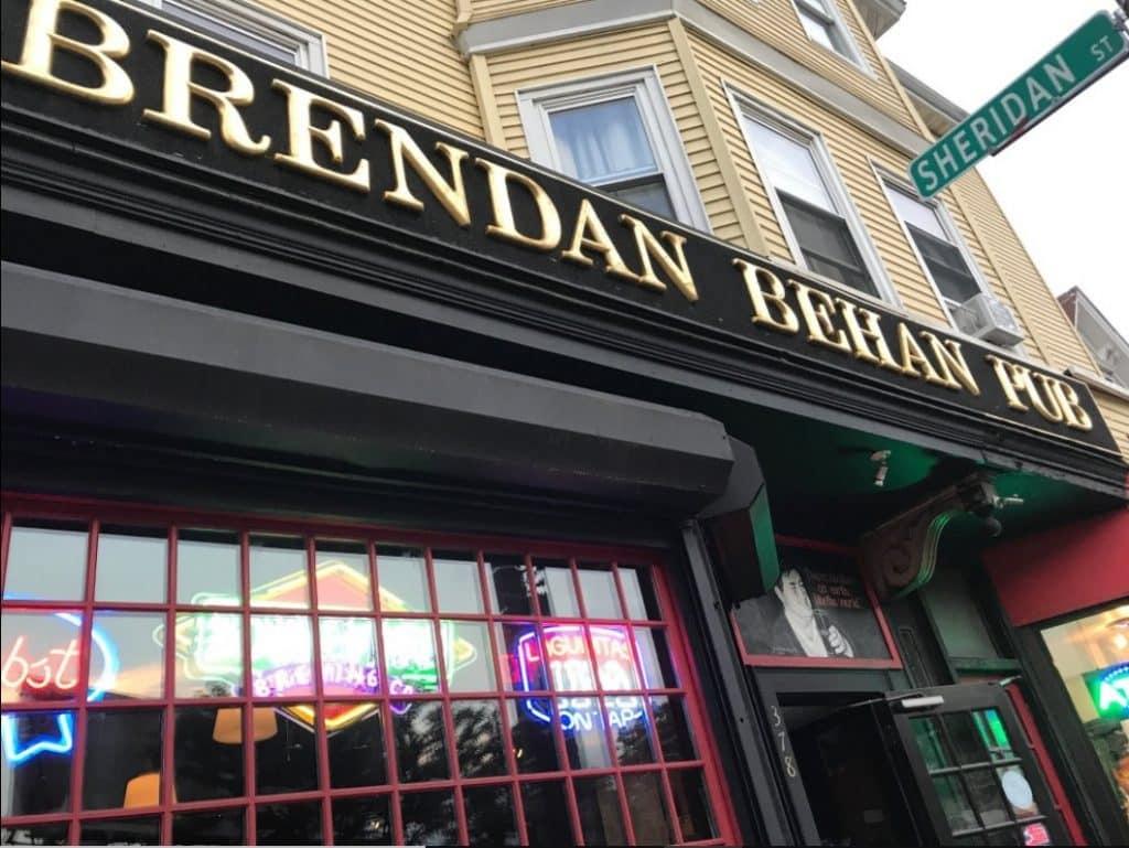 Brendan Behan is one of the 10 best Irish pubs in Boston