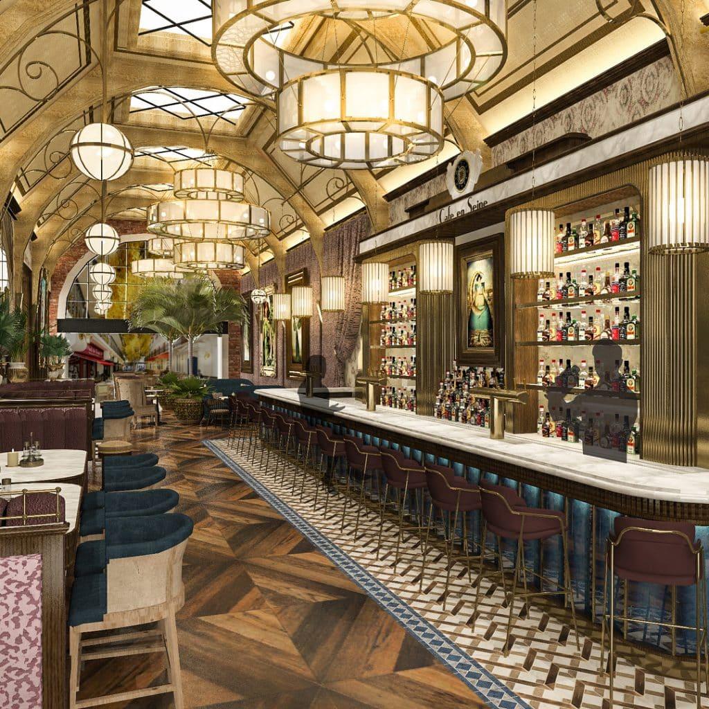 Cafe en Seine is the poshest bar in Dublin