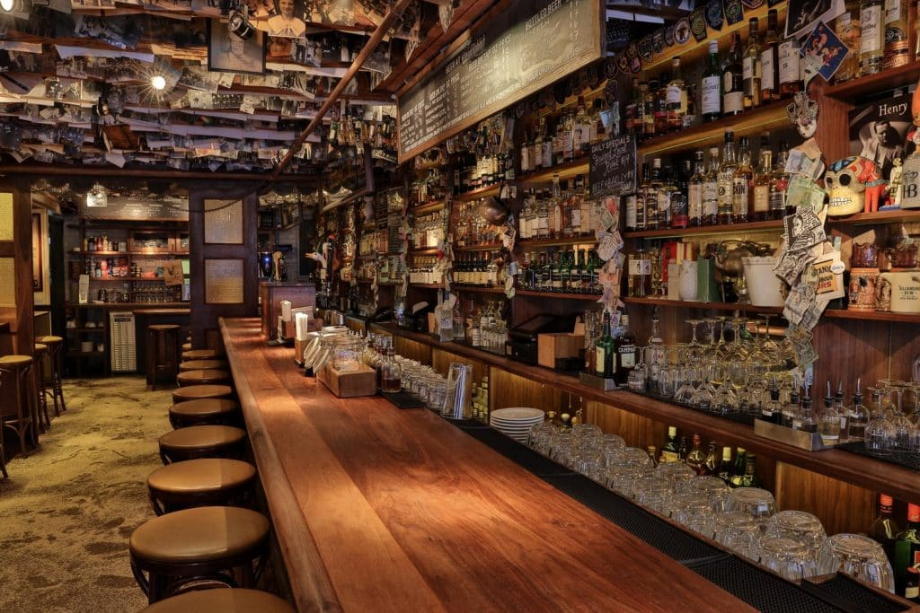 The Dead Rabbit in New York City is the top Irish drinking venue in the USA
