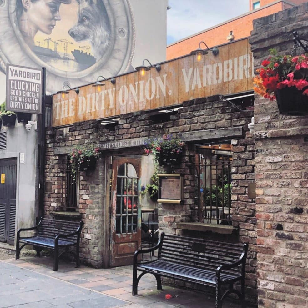 The Dirty Onion is located in the capital city of Northern Ireland