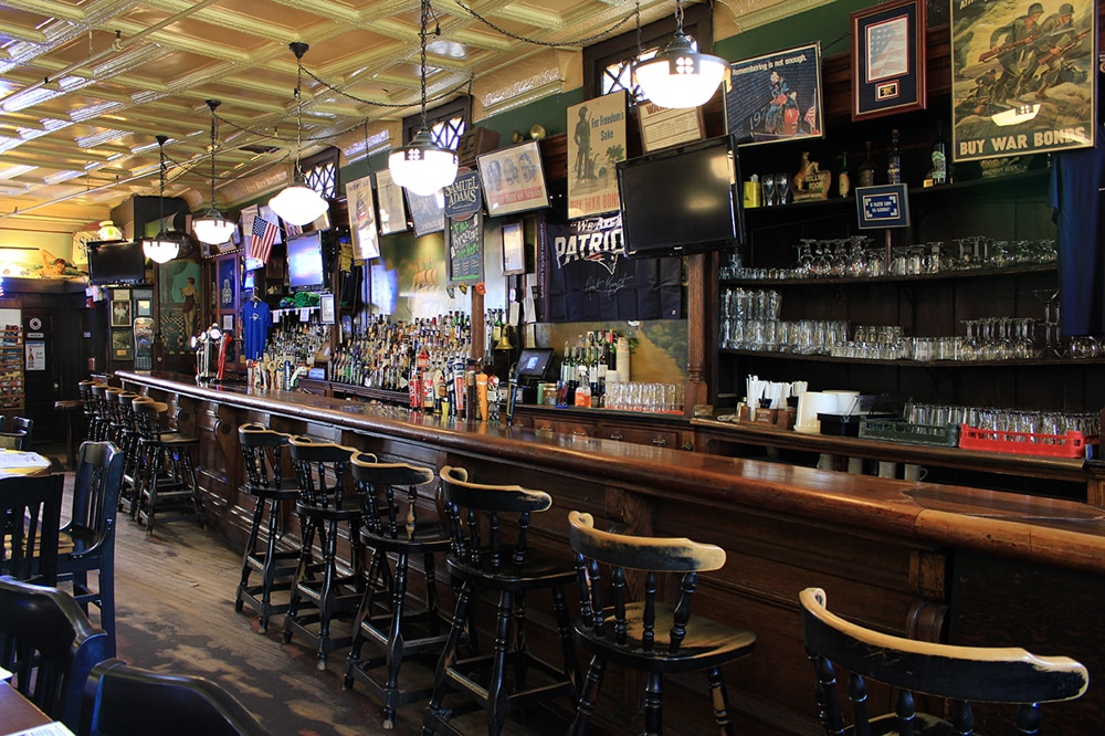 Doyle's Cafe in the capital of Massachusetts is a popular drinking establishment