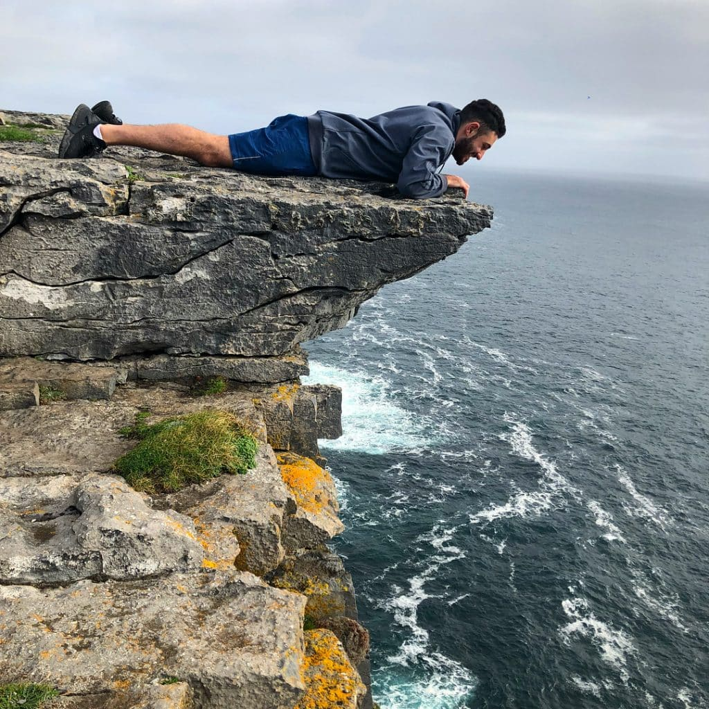 Dún Aonghasa is one of the top 10 things to do and see on the Aran Islands in Ireland