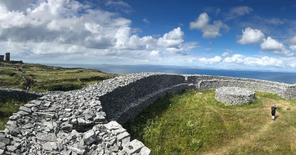 Dun Eochla is one of the top 10 things to see and do on the Aran Islands