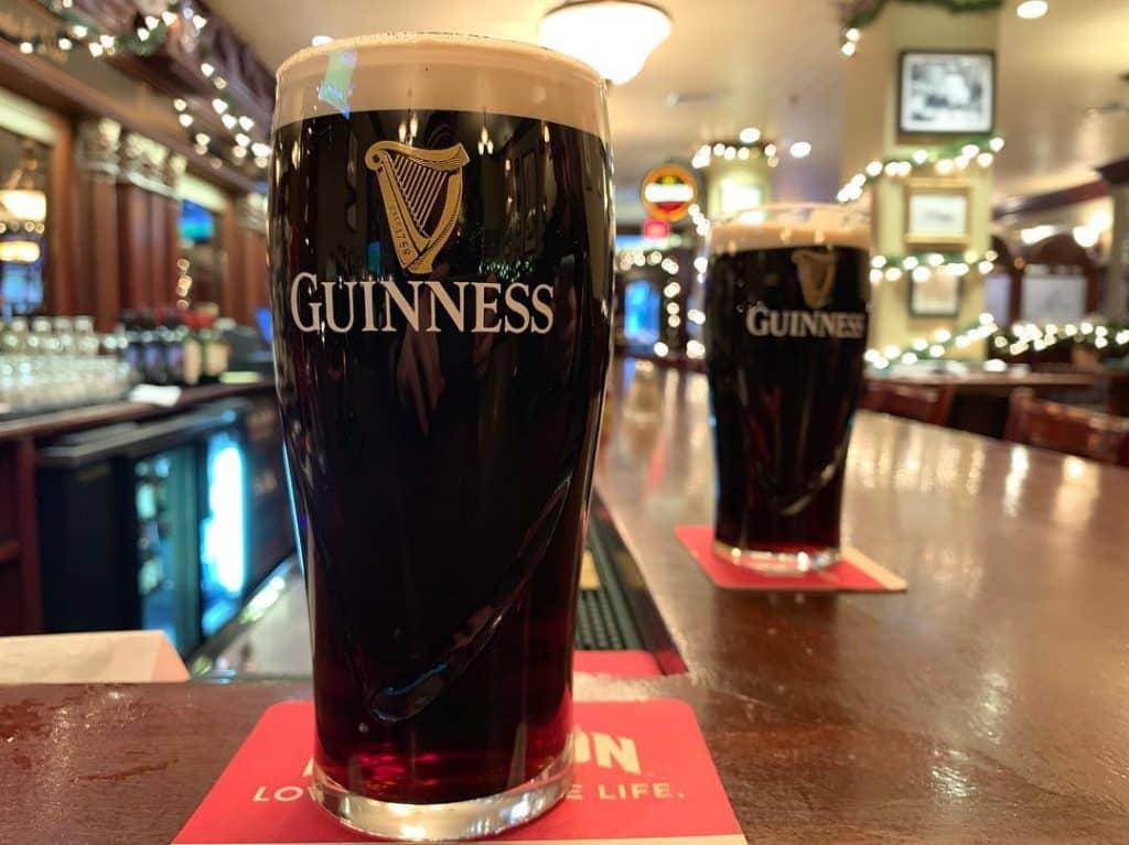 Guinness should always be on offer at bars in Ireland