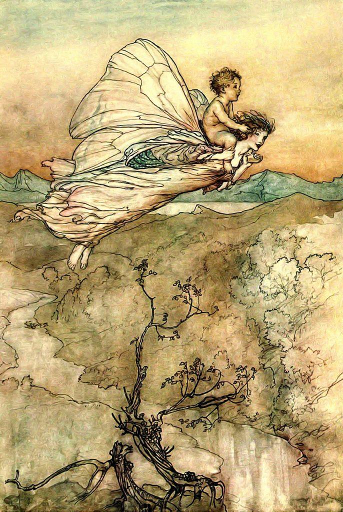 Irish mythological creatures include fairies