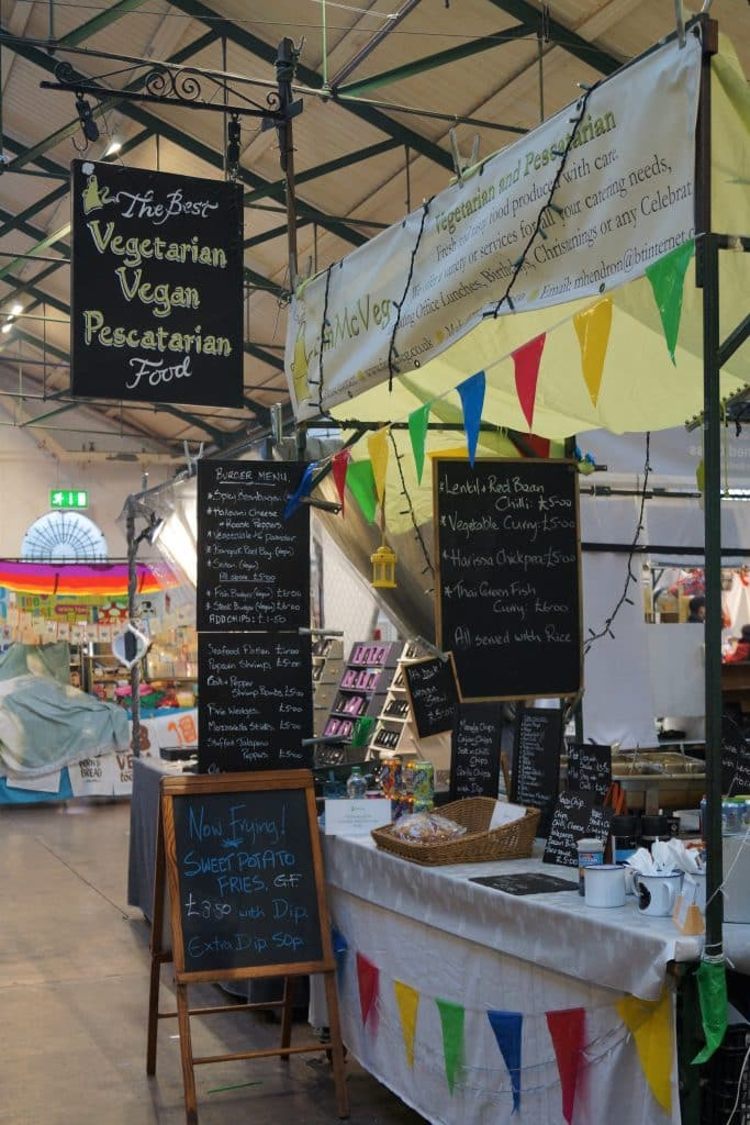 Fin McVeg is one of 10 food stalls you have to try at St. George's Market in Belfast