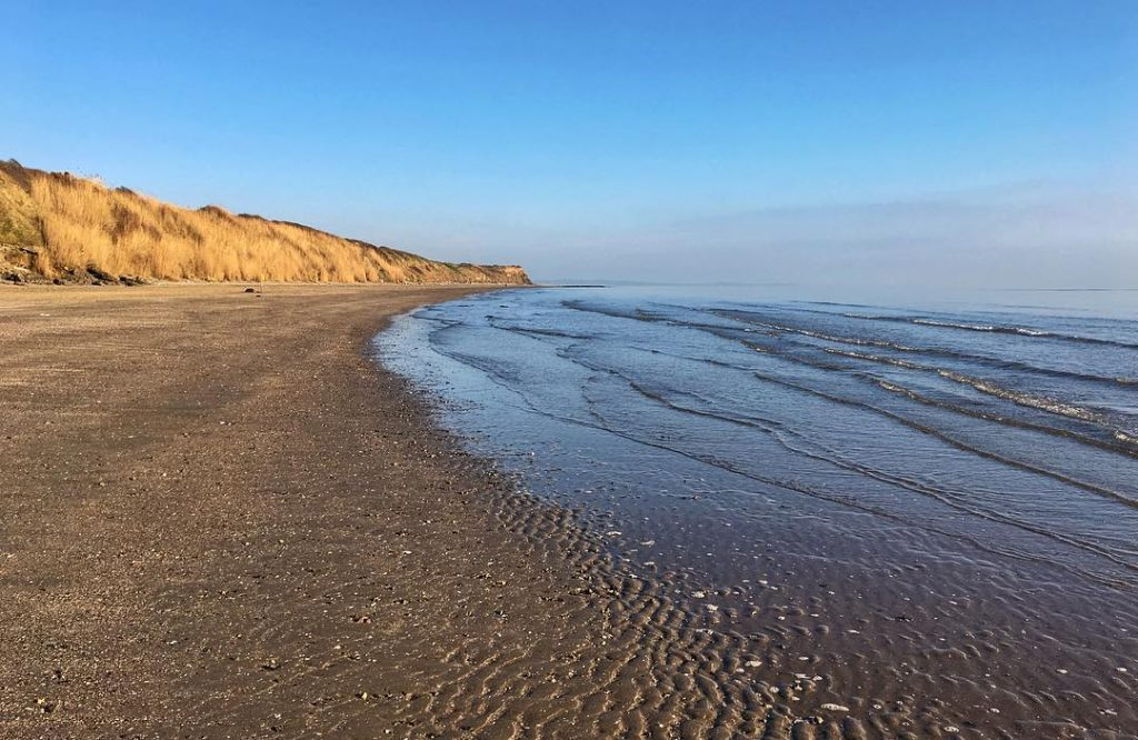 Gormanstown Beach is one of the three best beaches in County Meath, Ireland