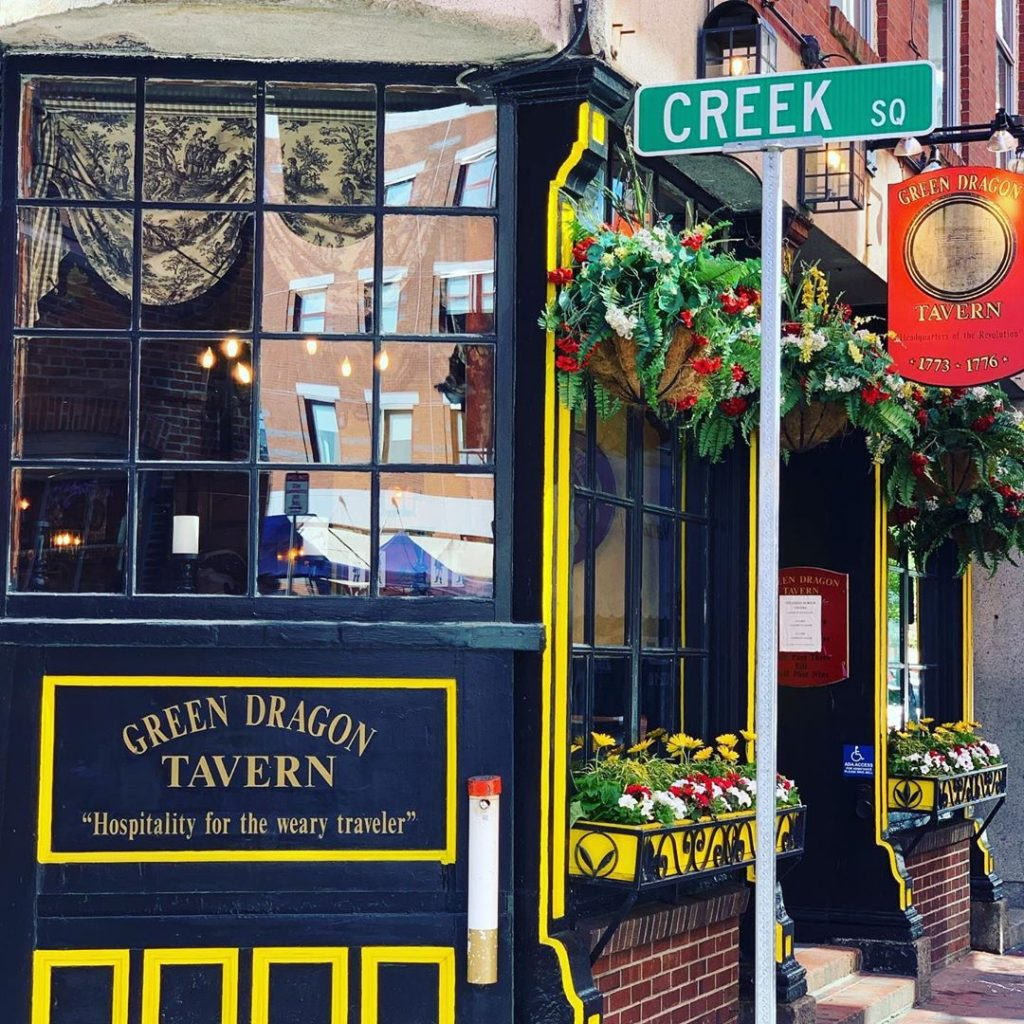 The Green Dragon in Boston is a popular pub