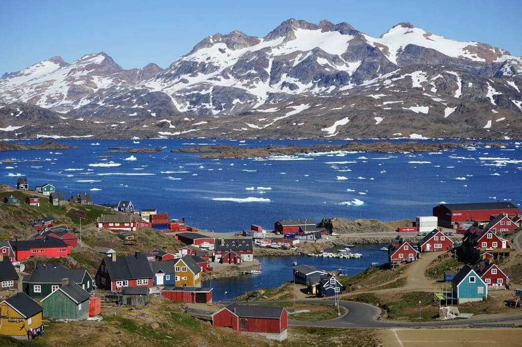Greenland is one destination people from Ireland can travel to without a visa