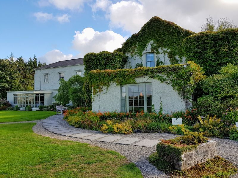 Gregans Castle Hotel is one of the top 5 eco-friendly places to stay in Ireland