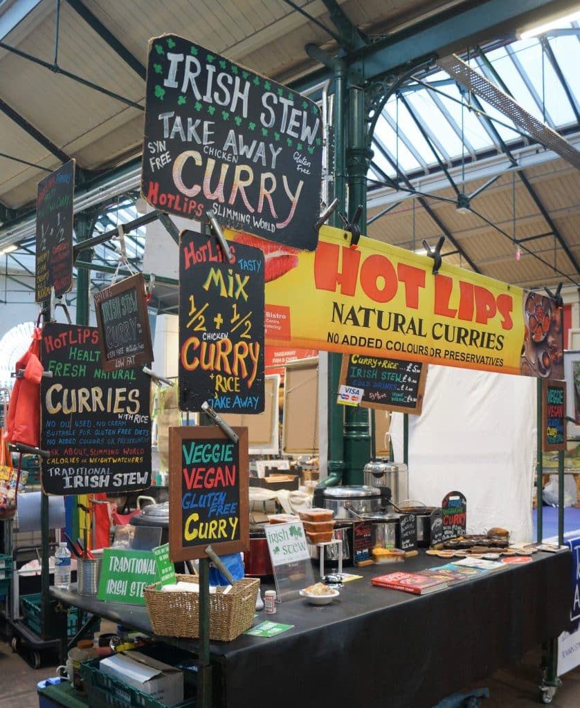 Hot Lips is the ultimate food stall at St. George's Market in the capital of Northern Ireland