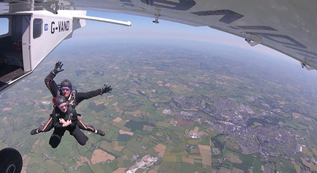 Irish Skydiving Club is one of the 5 best places to skydive in Ireland
