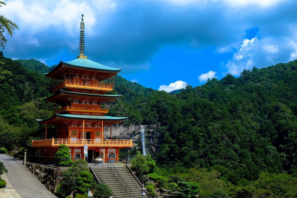 Japan is one destination Irish people can travel to without a visa