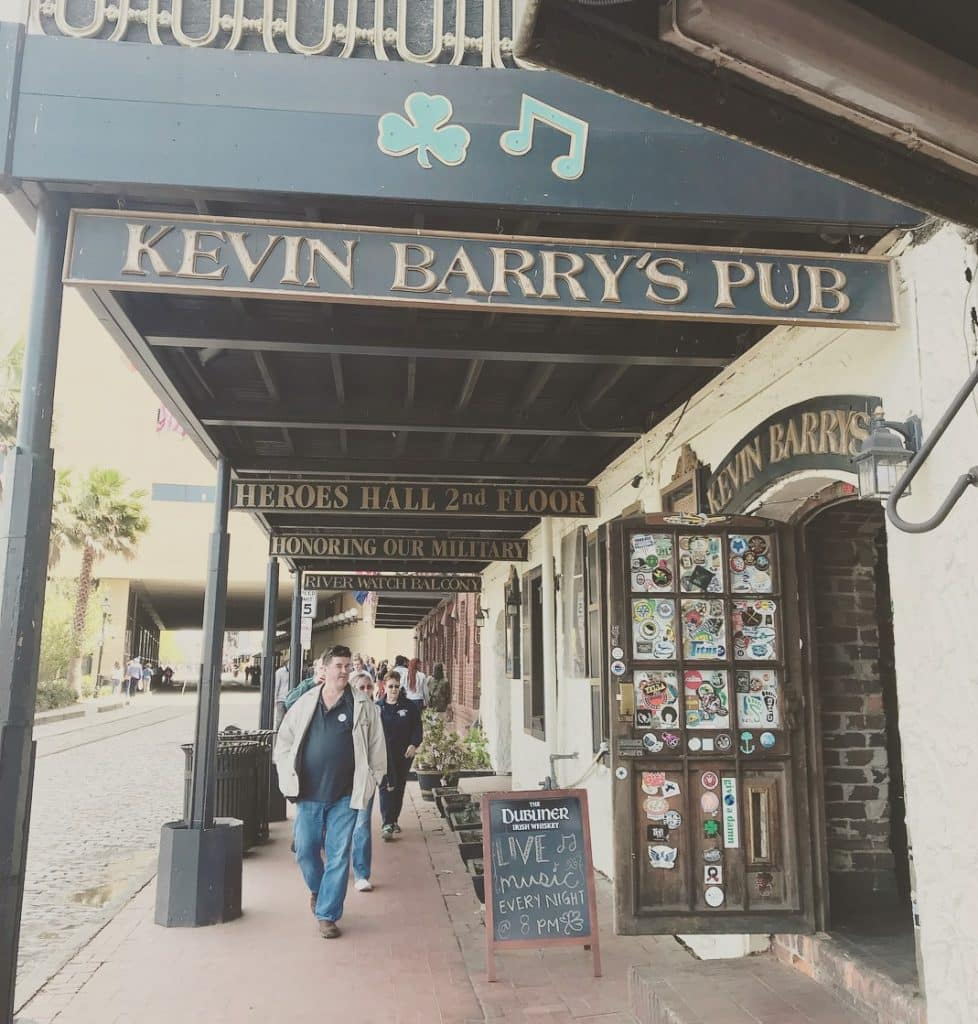 Kevin Barrys in Georgia is one of the best Irish pubs in America
