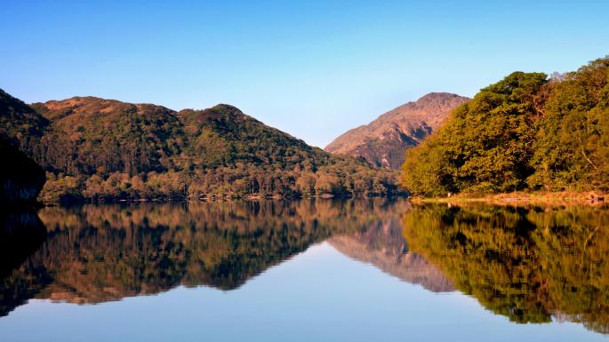 The Killarney National Park makes Killarney a great place to visit in Ireland during the summer.