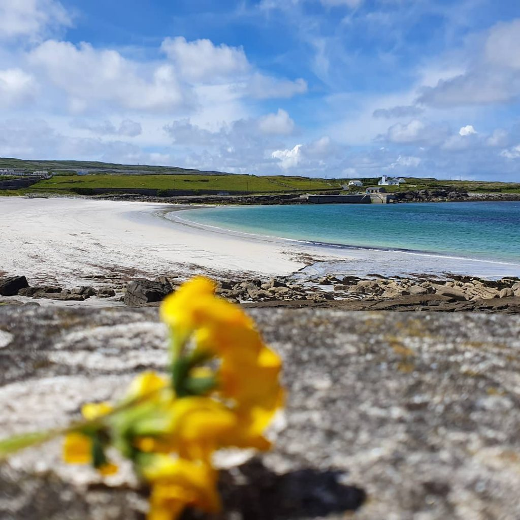 Kilmurvey Beach is one of the top 10 things to do and see on the Aran Islands in Ireland