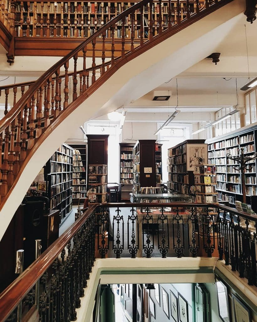 The Linen Hall Library is one of the most beautiful libraries in Ireland